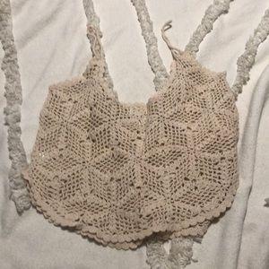 La Hearts Tops - LA Hearts Crochet Top